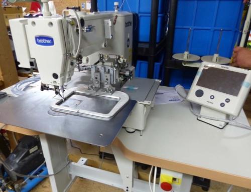 Upgrade: Neue Industrienähmaschinen in unserer Nähwerkstatt